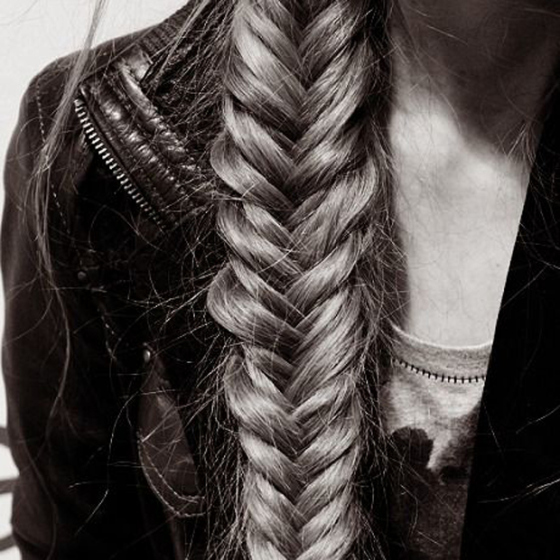 Long Braids for Fall, Fish Braids, Braids, Long Hair, Braids and Leather