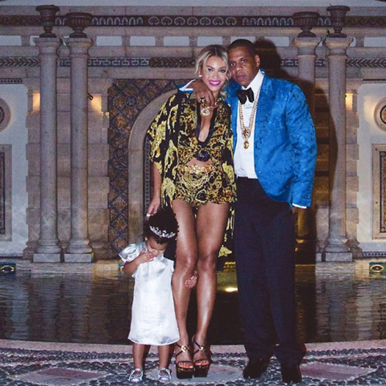 Beyonce, Jay-Z, Blue Ivy, Behind the mirror, over and done