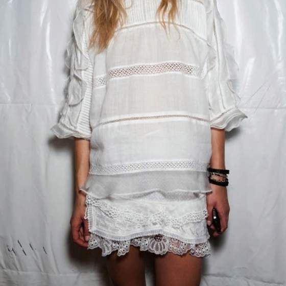 , behind the mirror, take my hand and run,bohemian white lace dress, white lace dress,