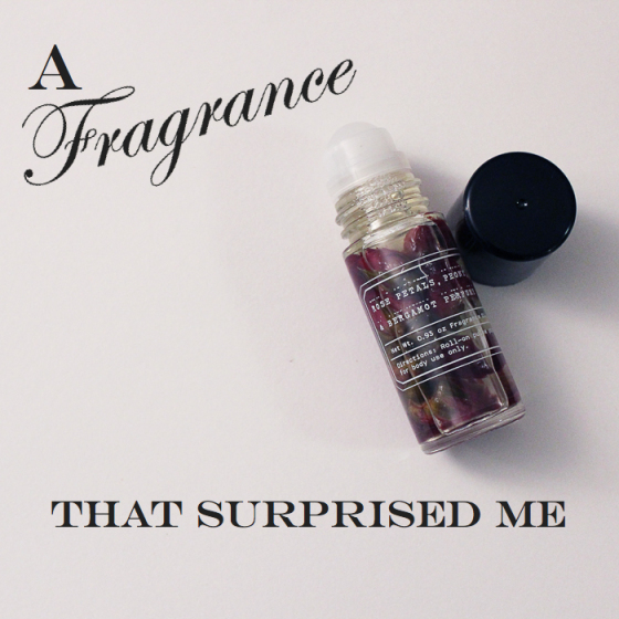 URBAN OUTFITTERS PETAL PERFUME OIL, A fragrance that surprised me, behind the mirror