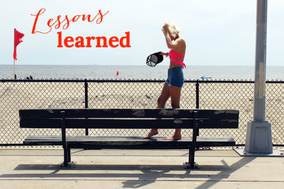 Lessons Learned, Behind the Mirror, Amanda Teague, Rockaway Beach, New York